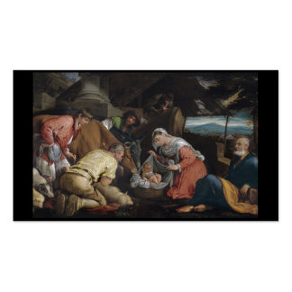Adoration of Shepherds Business Card
