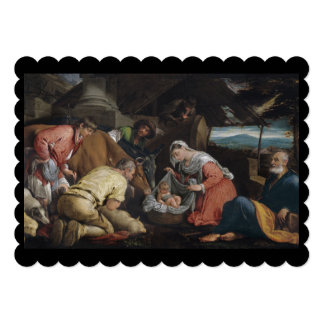 Adoration of Shepherds Card