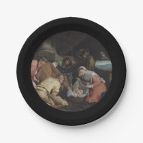 Adoration of Shepherds Paper Plate
