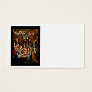 Adoration of the Angels Business Card