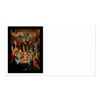 Adoration of the Angels Double-Sided Standard Business Cards (Pack Of 100)