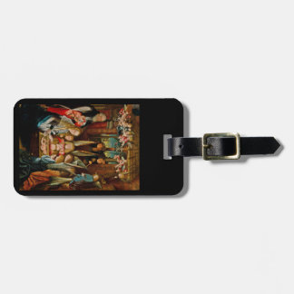 Adoration of the Angels Luggage Tag