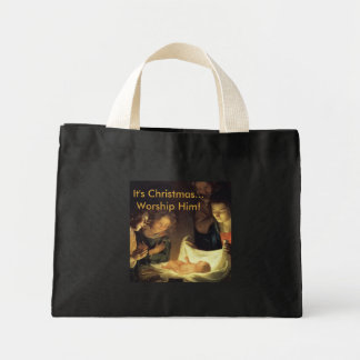 Adoration of the Child Christmas Bag