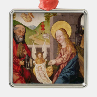 Adoration of the Child Metal Ornament