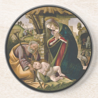 Adoration of the Christ Child Beverage Coasters