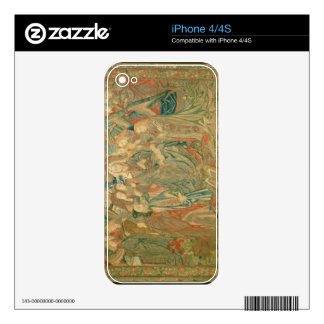 Adoration of the Christ child  (Tapestry) Skins For The iPhone 4