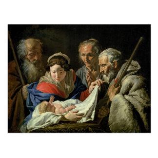 Adoration of the Infant Jesus Postcard