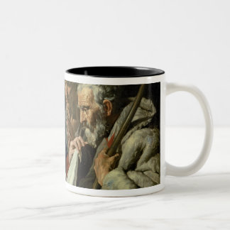 Adoration of the Infant Jesus Two-Tone Coffee Mug