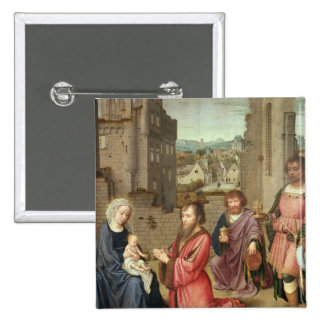 Adoration of the Kings, 1515 Pinback Button