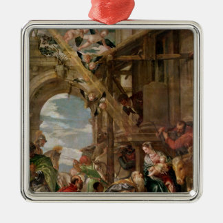 Adoration of the Kings, 1573 Metal Ornament