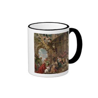 Adoration of the Kings, 1573 Ringer Coffee Mug