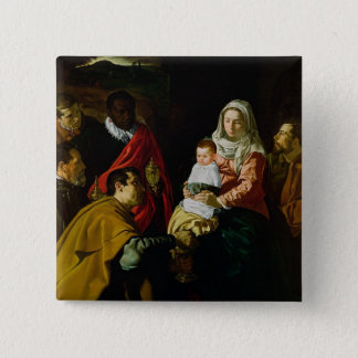 Adoration of the Kings, 1619 Button