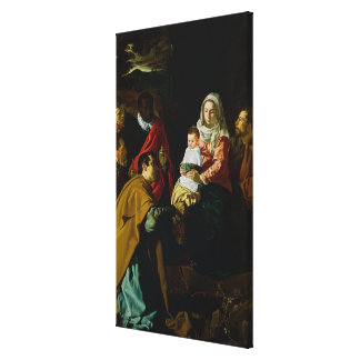 Adoration of the Kings, 1619 Canvas Print