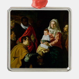 Adoration of the Kings, 1619 Metal Ornament
