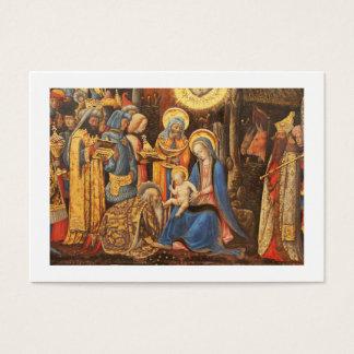 Adoration of the Kings  (Adorazione dei Magi) Business Card
