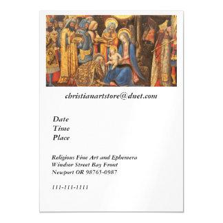 Adoration of the Kings  (Adorazione dei Magi) Magnetic Card