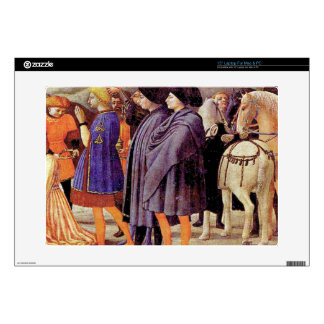 Adoration of the Kings by Masaccio Laptop Skins