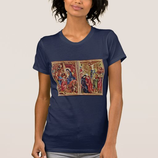 Adoration Of The Kings Right Wing  By Meister Des Tee Shirt