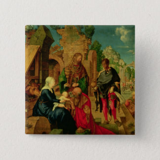 Adoration of the Magi, 1504 Pinback Button