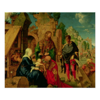 Adoration of the Magi, 1504 Poster