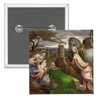 Adoration of the Magi, 1563-64 Pinback Button