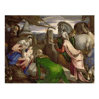 Adoration of the Magi, 1563-64 Postcard