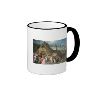 Adoration of the Magi, 1598 Ringer Coffee Mug