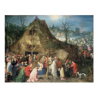 Adoration of the Magi, 1598 Postcard