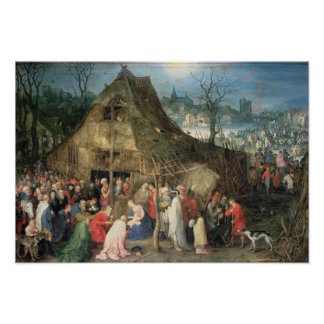 Adoration of the Magi, 1598 Poster