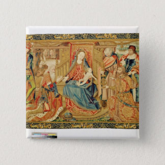 Adoration of the Magi, 15th-16th century Button