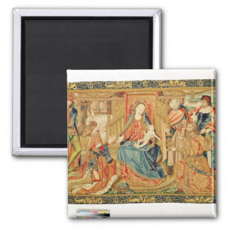 Adoration of the Magi, 15th-16th century Magnet