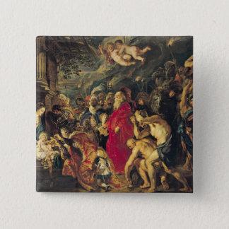 Adoration of the Magi, 1610 Pinback Button