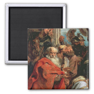 Adoration of the Magi, 1624 2 Inch Square Magnet