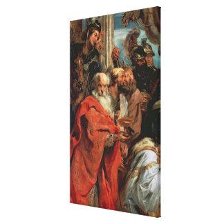 Adoration of the Magi, 1624 Canvas Print