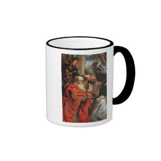 Adoration of the Magi, 1624 Ringer Coffee Mug