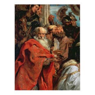 Adoration of the Magi, 1624 Postcard