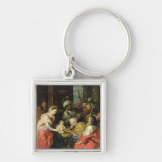 Adoration of the Magi, 1626-29 Keychain