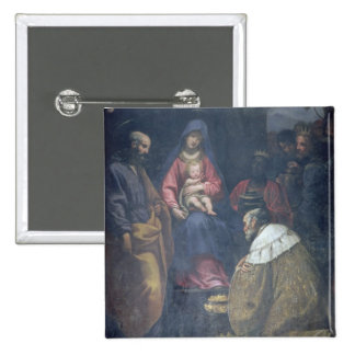 Adoration of the Magi, 1629 (oil on canvas) Button