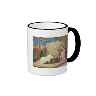 Adoration of the Magi, 1857 Ringer Coffee Mug