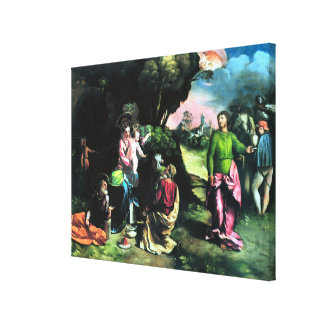 """Adoration of the Magi 20x16"""" Wrapped Canvas Print"""