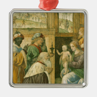 Adoration of the Magi 2 Metal Ornament