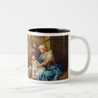 Adoration of the Magi 3 Two-Tone Coffee Mug