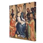 Adoration of the Magi altarpiece Canvas Print