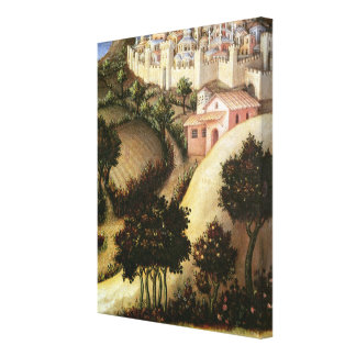 Adoration of the Magi Altarpiece Canvas Print