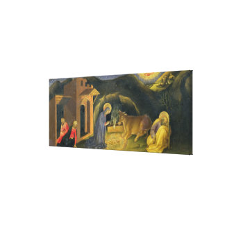 Adoration of the Magi Altarpiece; left hand predel Gallery Wrapped Canvas