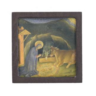 Adoration of the Magi Altarpiece; left hand predel Keepsake Box