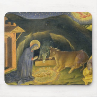 Adoration of the Magi Altarpiece left hand predel Mouse Pads
