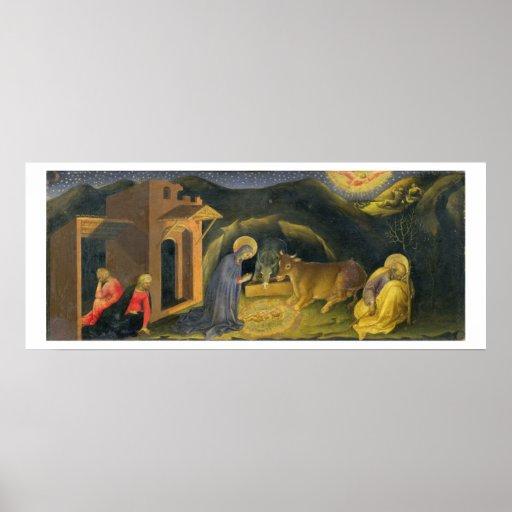 Adoration of the Magi Altarpiece; left hand predel Poster