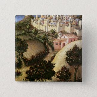 Adoration of the Magi Altarpiece Pinback Button