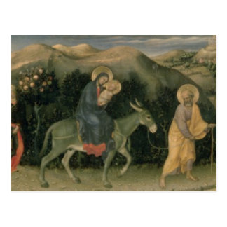 Adoration of the Magi Altarpiece Postcard
